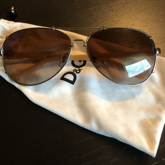 4ea0ae25dab8 Dolce   Gabbana Accessories - Dolce   Gabbana Aviator Sunglasses